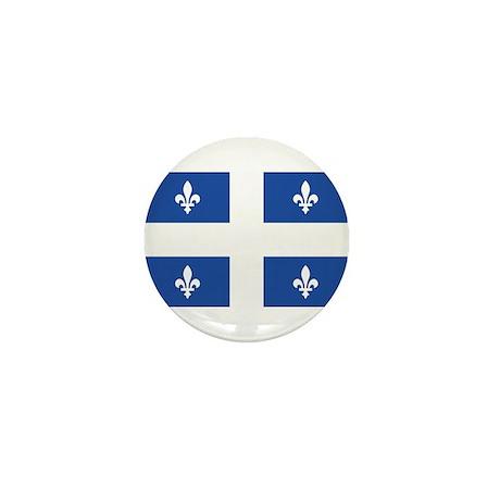 Quebec Flag Mini Button (100 pack)
