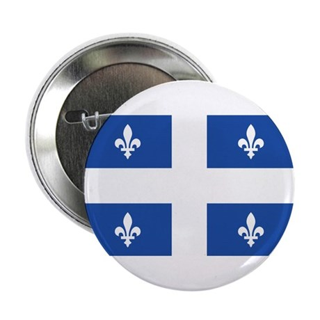 Quebec Flag Button