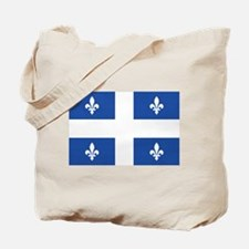 Quebec Flag Tote Bag