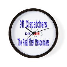 911 Dispatcher Responder Gift Wall Clock
