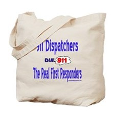 911 Dispatcher Responder Gift Tote Bag