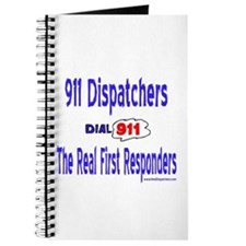911 Dispatcher Responder Gift Journal