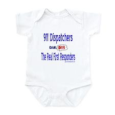 911 Dispatcher Responder Gift Infant Bodysuit