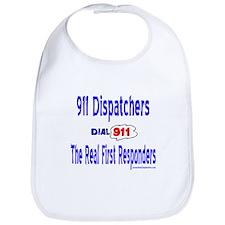 911 Dispatcher Responder Gift Bib