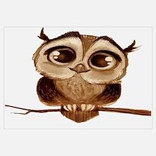 Cool Owl Wall Art
