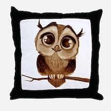 Cute T bird mens Throw Pillow