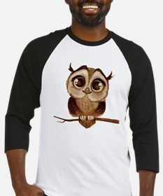 Unique Owl Baseball Jersey