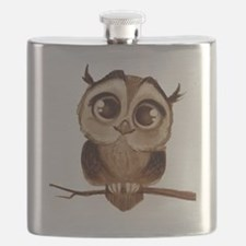 Unique Owl Flask