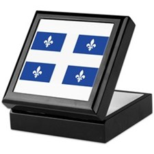 Quebec Flag Keepsake Box