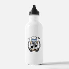 Argentina Soccer Fan Water Bottle