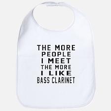 I Like More Bass Clarinet Bib