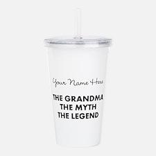Custom Grandma Myth Le Acrylic Double-wall Tumbler