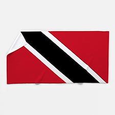 Trinidad and Tobago Flag Beach Towel
