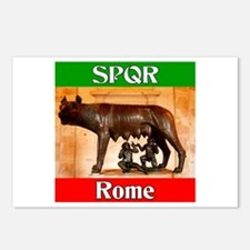 SPQR Rome Postcards (Package of 8)