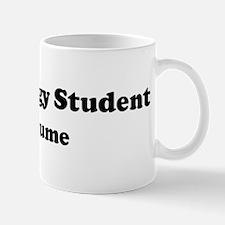 Paleontology Student costume Mug