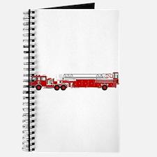 Fire Truck - Traditional ladder fire truck Journal
