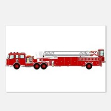 Fire Truck - Traditional Postcards (Package of 8)