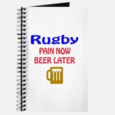 Rugby Pain now Beer later Journal
