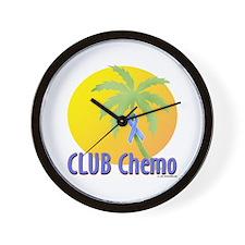 Club Chemo-Prostate Wall Clock