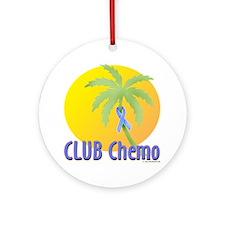 Club Chemo-Prostate Ornament (Round)