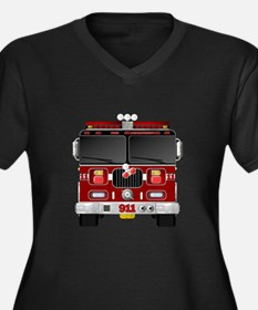 Fire Engine - Traditional fire e Plus Size T-Shirt