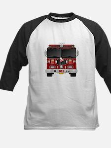 Fire Engine - Traditional fire eng Baseball Jersey