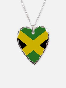 Jamaican Flag Necklace