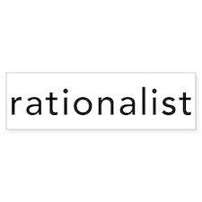 Rationalist Bumper Sticker