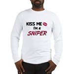 Kiss Me I'm a SNIPER Long Sleeve T-Shirt