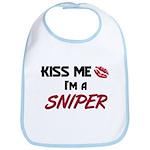 Kiss Me I'm a SNIPER Bib