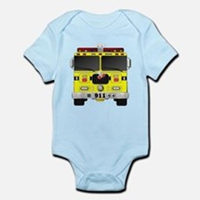 Fire Engine - Traditional fire engines f Body Suit