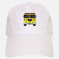 Fire Engine - Traditional fire engines front y Baseball Baseball Cap