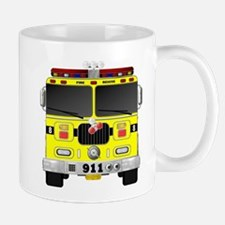 Fire Engine - Traditional fire engines front Mugs