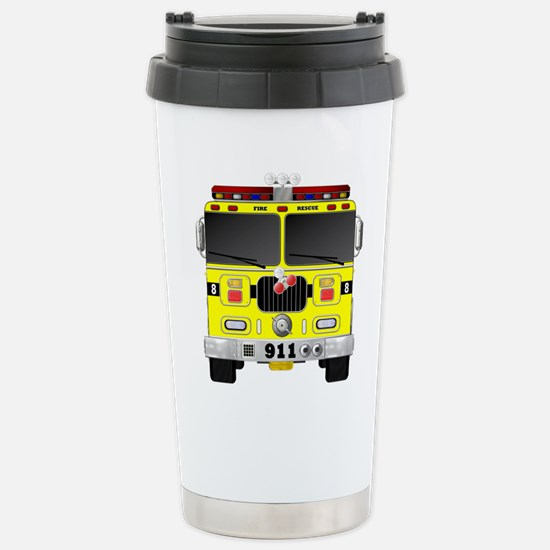 Fire Engine - Tradition Stainless Steel Travel Mug