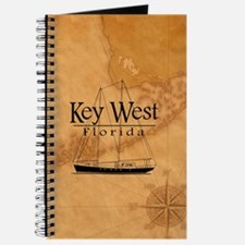 Key West Sailing And Nautical Map Journal