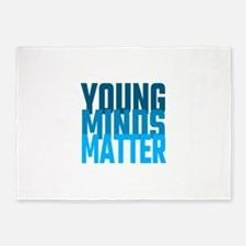 Young Minds Matter 5'x7'Area Rug