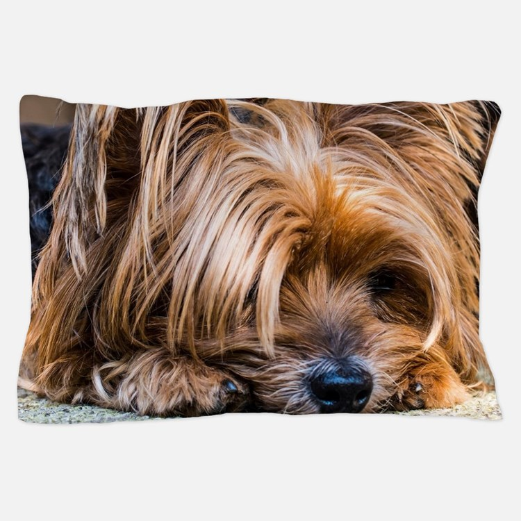 Yorkshire Terrier Dog Small Cute Pet Pillow Case