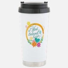A Most Beloved Sister Stainless Steel Travel Mug