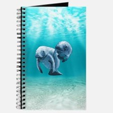 Two Manatees Swimming Journal