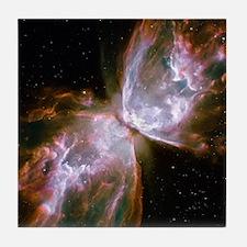 Butterfly Nebula Tile Coaster