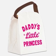 Cute Fathers day daughter Canvas Lunch Bag