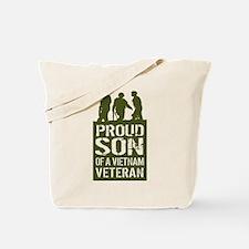 Proud Son Of A Vietnam Veteran Tote Bag