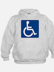 Handicap Sign Hoodie