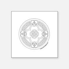"""Cute Celtic symbol Square Sticker 3"""" x 3"""""""
