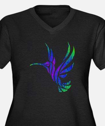 HUMMINGBIRD Plus Size T-Shirt
