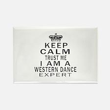 Western Dance Expert Designs Rectangle Magnet