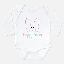 Cute Easter Long Sleeve Infant Bodysuit