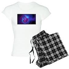 Nebula Galaxy Fractal Abstr Pajamas