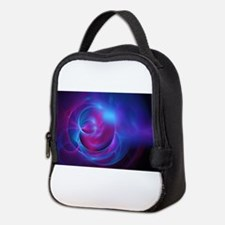 Nebula Galaxy Fractal Abstract Neoprene Lunch Bag