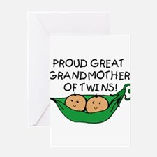 Unique Great grandmother to be Greeting Card